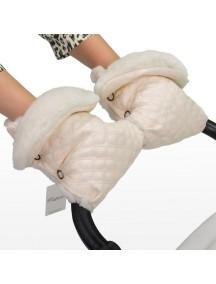 Муфта-рукавички для коляски универсальная Esspero Karolina - Cream (кремовый)
