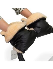 Муфта-рукавички для коляски универсальная Esspero Olsson - Black (черный)