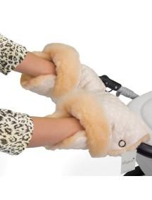 Муфта-рукавички для коляски универсальная Esspero Carina - Cream (кремовый)