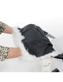Муфта для рук на коляску универсальная Esspero Julia - Black Carbon (черный)