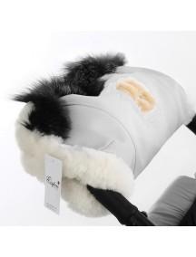 Муфта для рук на коляску универсальная Esspero Amato - White (белый)