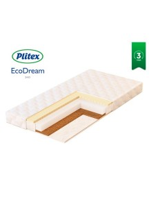 Матрас Plitex EcoDream 1190х600х90 мм