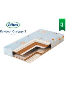 Матрас Plitex Комфорт-Стандарт 2 1190х600х120 мм