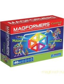 Магнитный конструктор MAGFORMERS 63074 Набор карнавал
