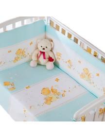 Комплект в кроватку Перина Фея 3 предмета Лето Голубое