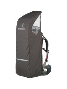 Дождевик для рюкзака-переноски LittleLife Серый с синим