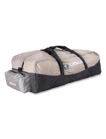 Сумка для транспортировки рюкзака-переноски LittleLife Серый с красным
