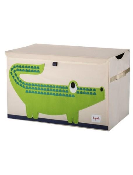 Сундук для игрушек Крокодил (Green Crocodile) 3Sprouts
