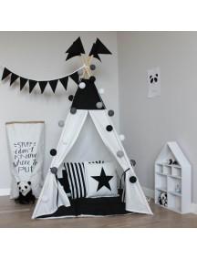Вигвам ручной работы для детей, Black&White