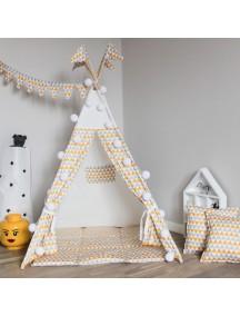 Вигвам ручной работы для детей Треугольники, Triangles