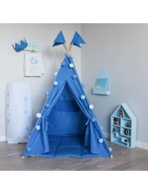 Вигвам ручной работы для детей Насыщенный синий, Deep Blue