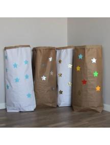 Эко-мешок для игрушек из крафт бумаги Small Stars