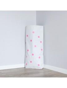 Эко-мешок для игрушек Dots (розовый)