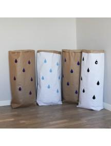 Эко-мешок для игрушек из крафт бумаги Small Drops