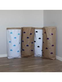 Эко-мешок для игрушек из крафт бумаги Small Clouds