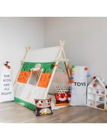 Игровая палатка с окном ручной работы для детей, Irish Summer