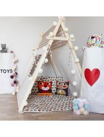 Игровая палатка с окном ручной работы для детей, Funky Owl