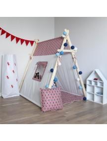Игровая палатка с окном ручной работы для детей,  Texas Stars