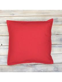 Интерьерная подушка ручной работы, Simple Red 40 х 40 см