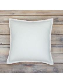 Интерьерная подушка ручной работы, Simple White 40 х 40 см
