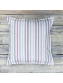 Интерьерная подушка ручной работы, Pink Stripes 40 х 40 см