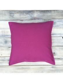 Интерьерная подушка ручной работы, Deep Pink 40 х 40 см