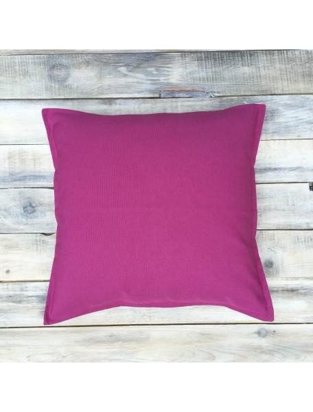 Интерьерные подушки ручной работы, Deep Pink 40х40 см