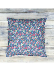 Интерьерная подушка ручной работы, Blue Shabby