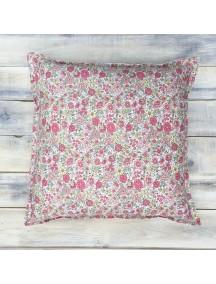 Интерьерная подушка ручной работы, Coral Shabby
