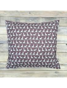 Интерьерная подушка ручной работы, Brown Goose