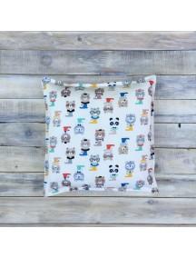 Интерьерная подушка ручной работы, Funny Bears