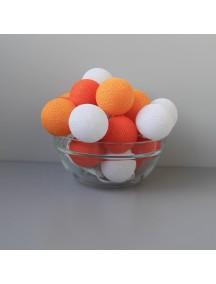 Тайская гирлянда оранжевая