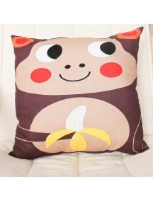 Интерьерная подушка ручной работы, Little Monkey 30 х 30 см