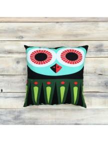 Интерьерная подушка ручной работы,  Little Owl №1 30 х 30 см