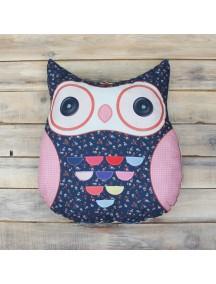 Интерьерная подушка ручной работы, Little Owl №6 50 х 50 см