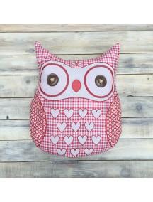Интерьерная подушка ручной работы, Little Owl №7 50 х 50 см