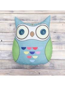 Интерьерная подушка ручной работы, Little Owl №8 50 х 50 см