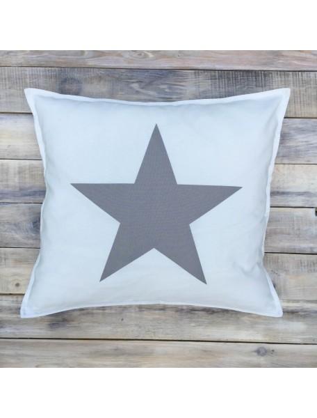 Интерьерная подушка ручной работы, Подушка Black&White №1 50х50 см