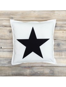 Интерьерная подушка ручной работы, Black&White №2