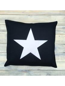 Интерьерная подушка ручной работы, Black&White №7 40х40 см