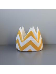 Мягкая корона Yellow Zigzag