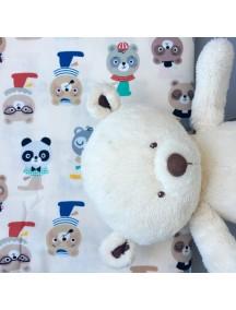 Стеганый плед для вигвама Funny Bears