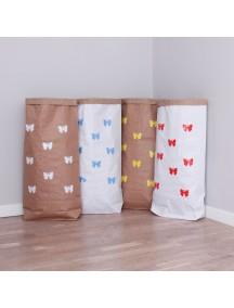 Эко-мешок для игрушек из крафт бумаги Small Butterflies