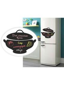 """Магнит для мела на холодильник """"Горшочек"""""""