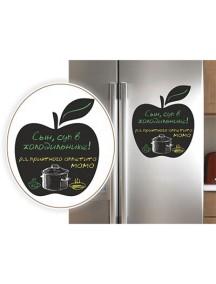 """Магнит для мела на холодильник """"Яблоко"""""""