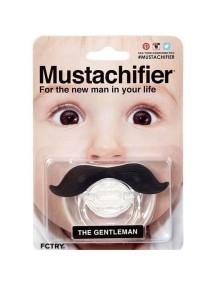Пустышка силиконовая Джентльмен, Mustachifier