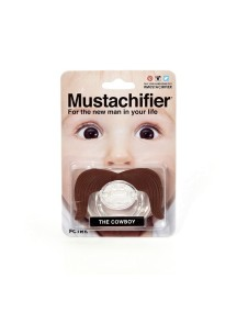 Пустышка силиконовая Ковбой, Mustachifier