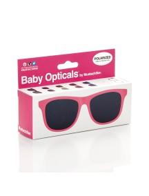 Детские солнечные очки Mustachifier, розовые