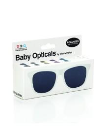 Детские солнечные очки Mustachifier, белые