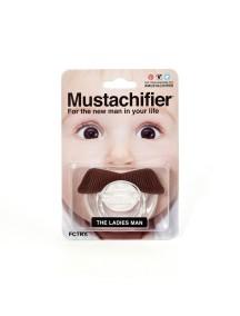 Пустышка силиконовая Дамский угодник, Mustachifier